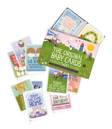 Milestone The Original Baby Cards Twins - ENG