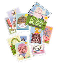 Milestone The Original Baby Cards - ENG