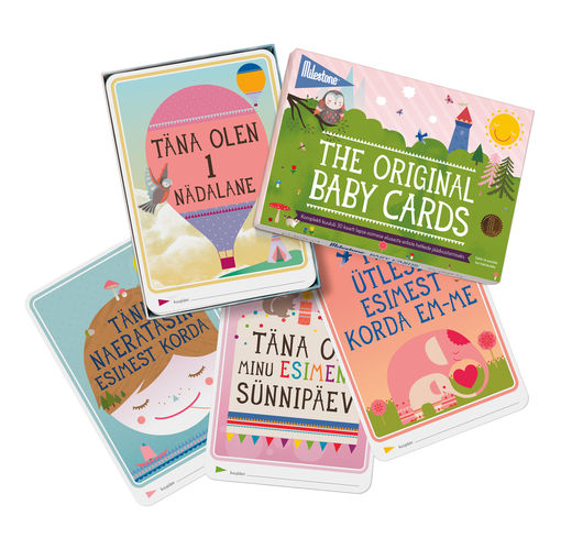Milestone The Original Baby Cards - EST