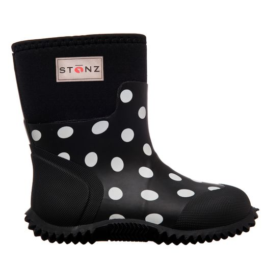 West - Black&White Polka Dot